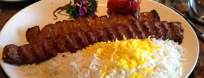 Caspian Authentic Persian Restaurant is one of Lugares favoritos de Rez.