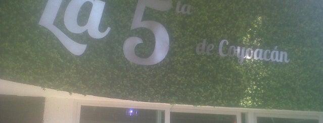 La 5ta De Coyoacan is one of Lieux sauvegardés par Norma.