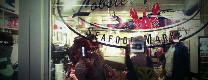 Lobster Place is one of Manhattan food.