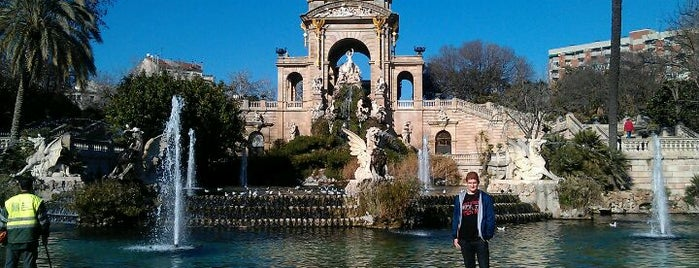 Parc de la Ciutadella is one of Most beautiful Fontains in Barcelona.