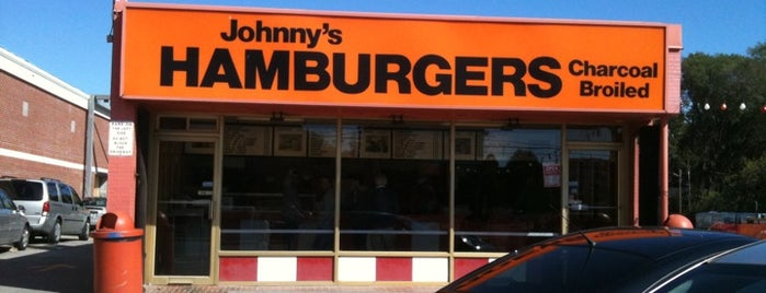 Johnny's Hamburgers is one of Food Places.