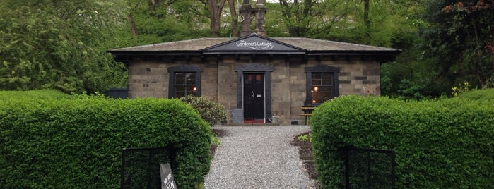 The Gardener's Cottage is one of Edinburgh.