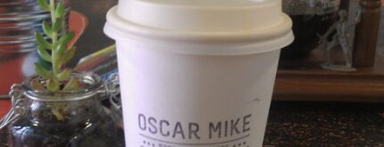 Oscar Mike is one of Cafe's to do.