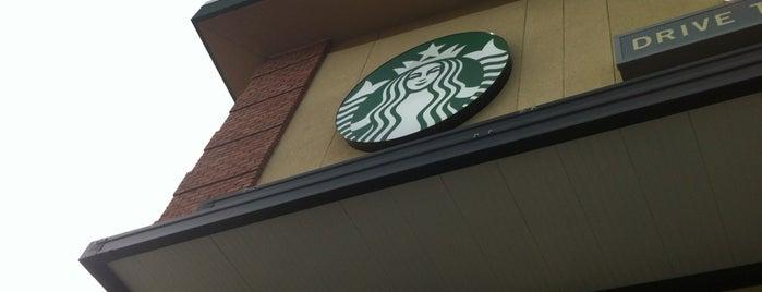 Starbucks is one of Kristin 님이 좋아한 장소.