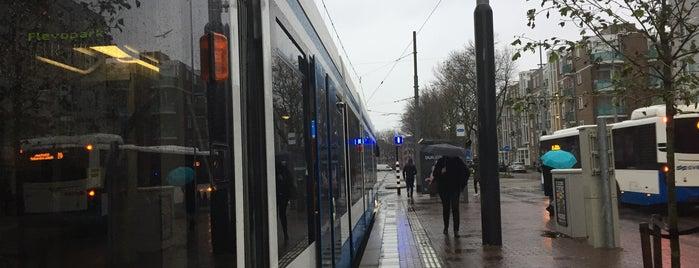 Tramhalte Muiderpoortstation is one of Alle tramhaltes van Amsterdam.