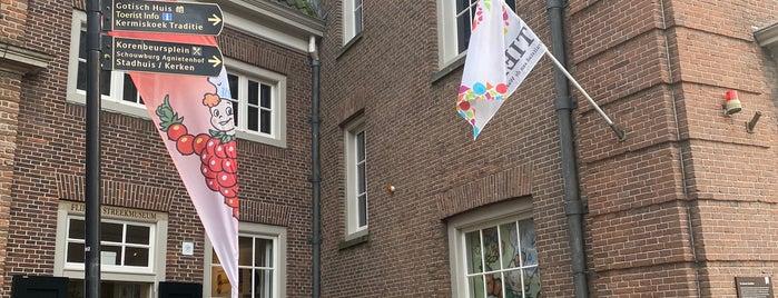 Flipje & Streekmuseum Tiel is one of Museums that accept museum card.