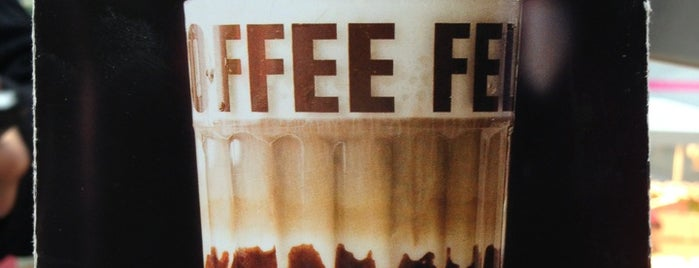 Coffee Fellows is one of Orte, die Wallace gefallen.