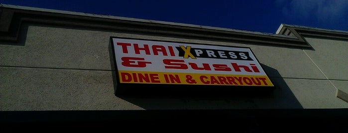 Thai Xpress & Sushi is one of SGF Food.