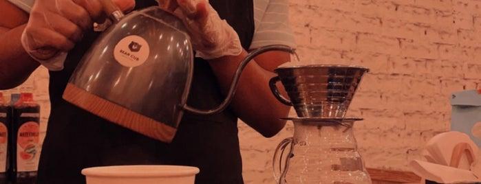 BEAR CUB ®️ Specialty coffee بير كب قهوة مختصة is one of Coffee shops | Riyadh ☕️🖤.