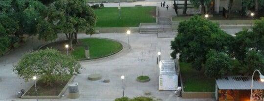 Plaza Dr. Bernardo Houssay is one of Lugares favoritos de Alejandro.