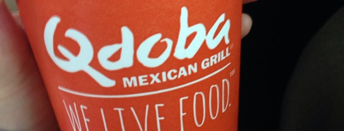 Qdoba Mexican Grill is one of Lieux qui ont plu à Hiroshi ♛.
