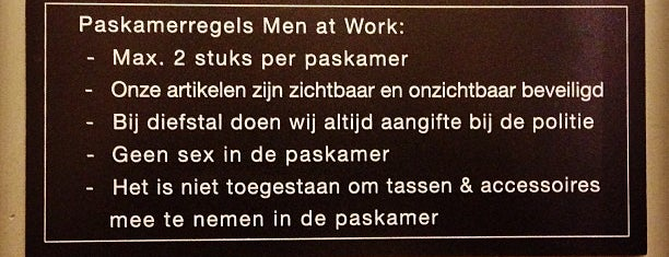 Men At Work is one of Guide to Antwerp's best spots.