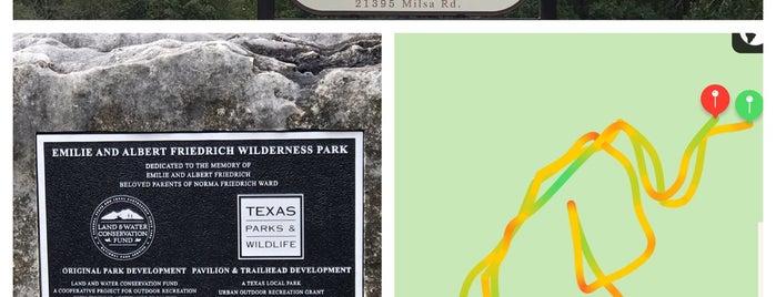 Friedrich Wilderness Park is one of Tempat yang Disukai Stefanie.