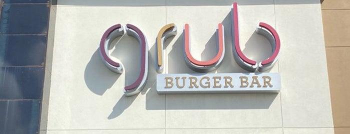 Grub Burger Bar is one of Locais curtidos por Andres.