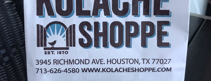 Kolache Shoppe is one of Lugares favoritos de Rebecca.