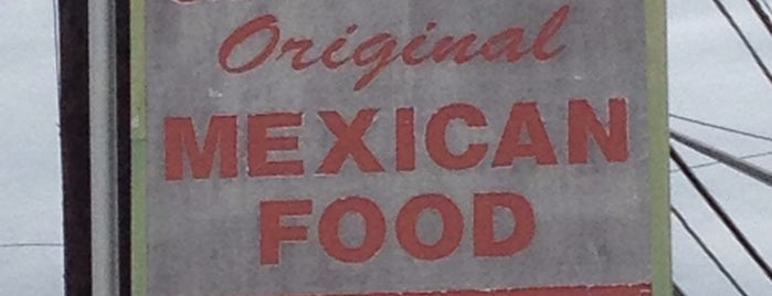 Garcia's Mexican Food is one of San Antonio.