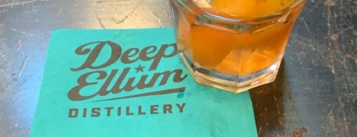 Deep Ellum Distillery is one of Dallas.