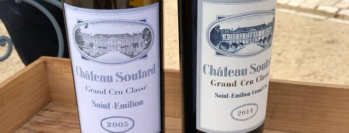 Chateau Soutard is one of Vin.