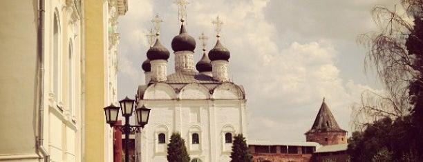 Зарайский кремль is one of МО.