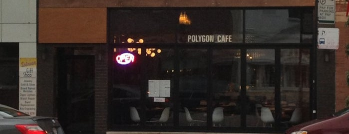 Polygon Cafe is one of Tempat yang Disukai Tiffany.