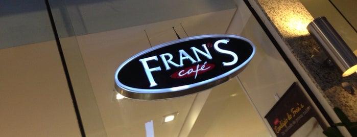 Fran's Café is one of Orte, die Vinicius gefallen.
