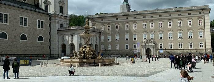 Residenzbrunnen is one of SALZBURG.