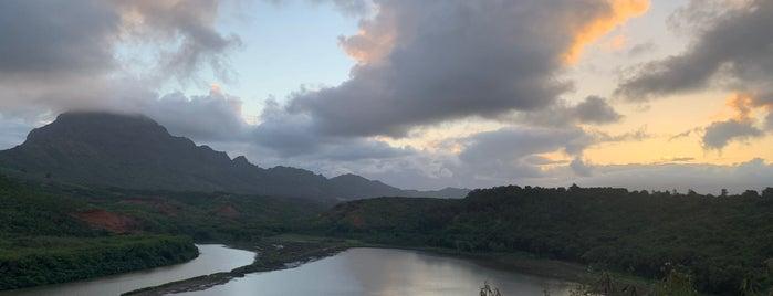 Menehune Fish Pond is one of Kauai.