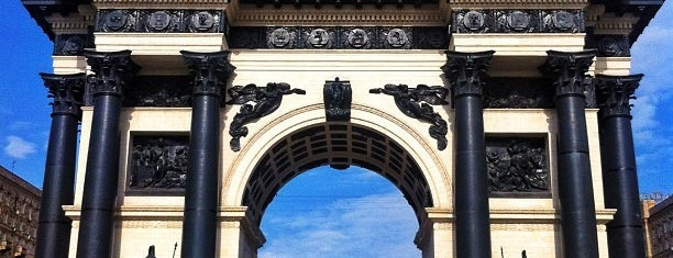 Triumphal Arch is one of MosKoW.