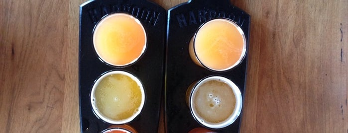 Harpoon Brewery is one of Boston Favorites.