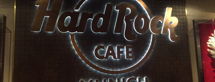 Hard Rock Cafe Munich is one of MUNICH SEE&DO&EAT.