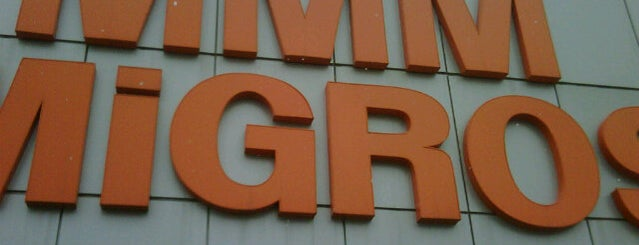 Migros is one of Lugares favoritos de Burak.