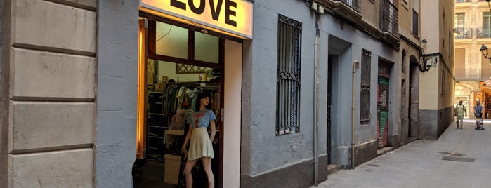 Love Vintage is one of Barcelona.
