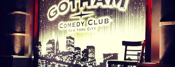 Gotham Comedy Club is one of New York, New York.