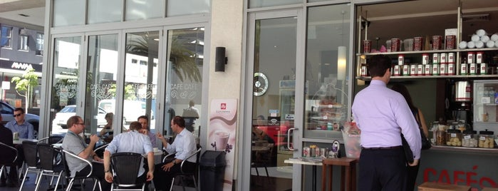 Café Café is one of Perth city coffee stops.