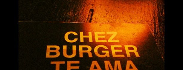 Chez Burger is one of SP Food.