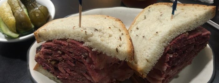 Pastrami Queen is one of NY.