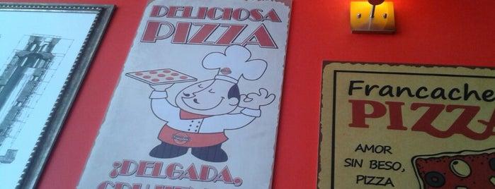 Francachela Pizzería is one of Locais salvos de Luis.