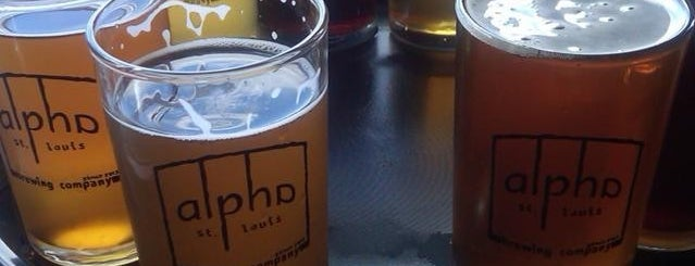 Alpha Brewing Company is one of STL.