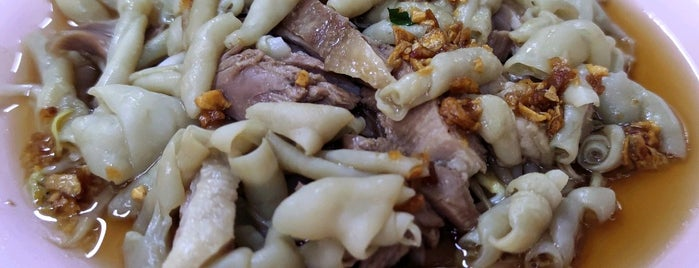113 Duck Koay Teow Soup is one of Kuliner Penang.
