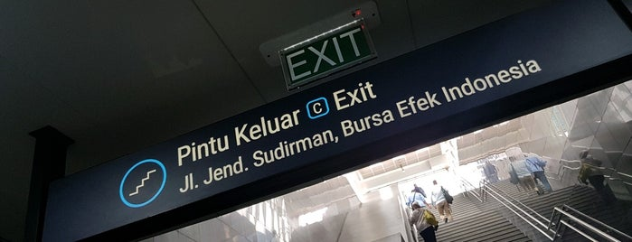 Stasiun MRT Istora Mandiri is one of MRT trip.