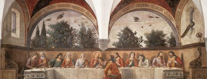 Cenacolo del Ghirlandaio is one of LE GALLERIE D'ARTE FIORENTINE.