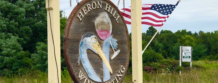 Heron Hill Tasting Room on Seneca Lake is one of Finger Lakes Wine Trail & Some.