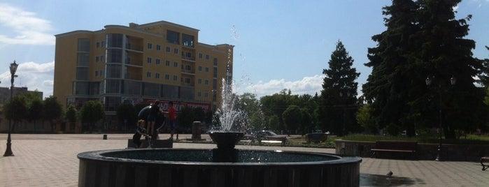 Центральна площа is one of Коростышев-Житомир-Бердичев.