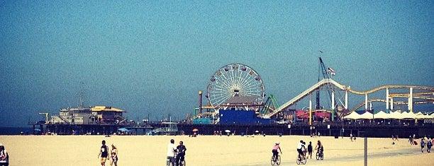 Boardwalk - Santa Monica Beach is one of Santa Monica.