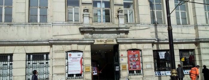 Basın Müzesi is one of İstanbul Gezelim Görelim - Müze.
