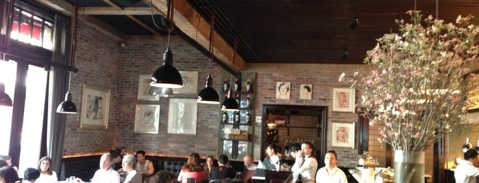 Locanda Verde is one of NYC Favorites/To-Gos.