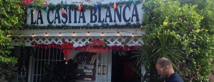 La Casita Blanca is one of Puerto Rico Restaurants.
