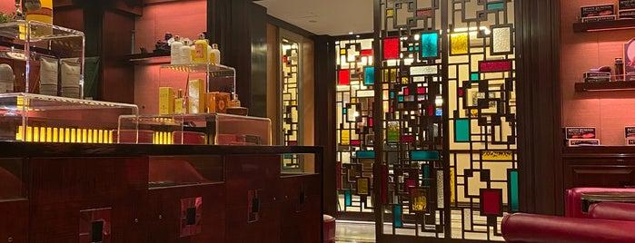 The Mandarin Salon is one of Hong Kong.