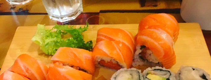 Abeca Sushi is one of Places To Try.