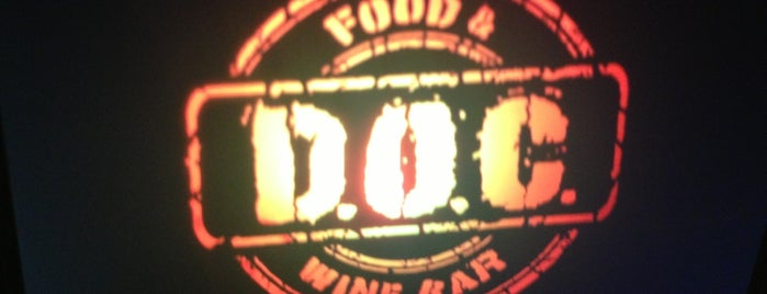 D.O.C. Food & Wine Bar is one of Locais curtidos por Fernando Viana.